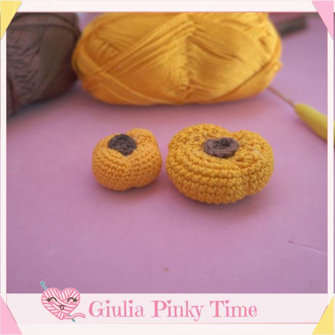 zucche amigurumi di Giulia Mollica design - Giulia Pinky Time