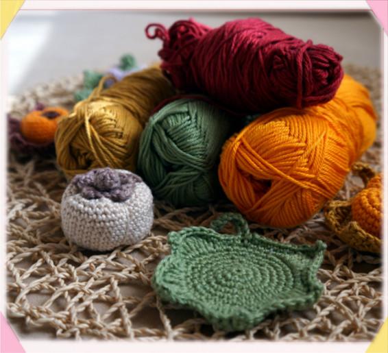 Foto: filato in cotone / cotton yarn