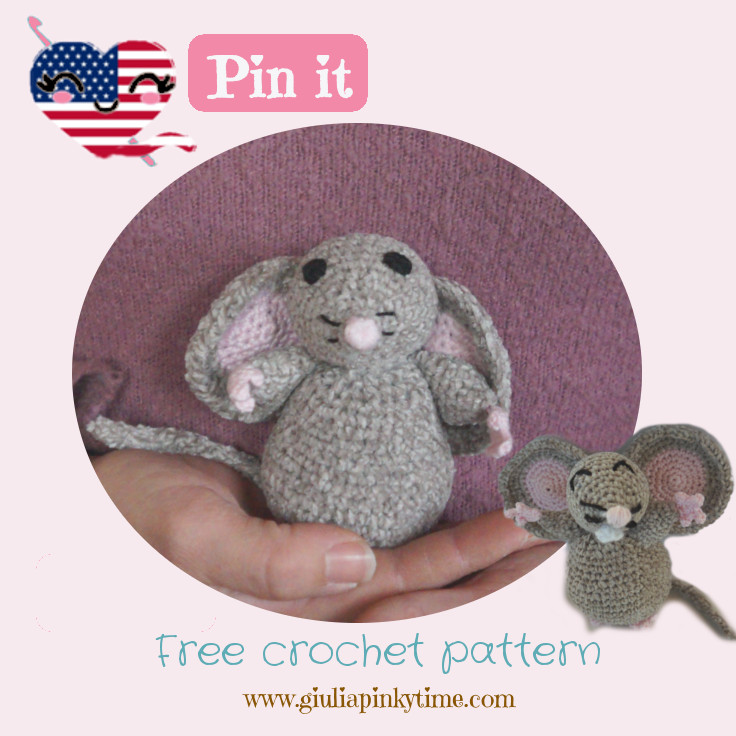 amigurumi mouse save to make it after