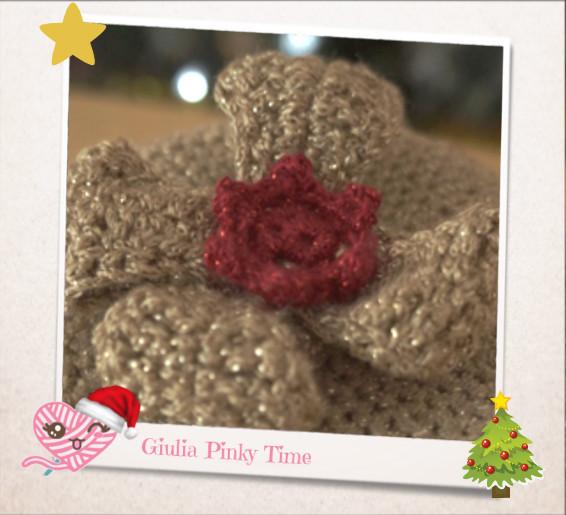 Fiore centrale del fiocco