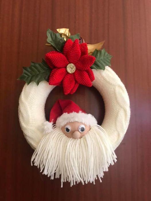 Ghirlanda natalizia di Maria Cristina