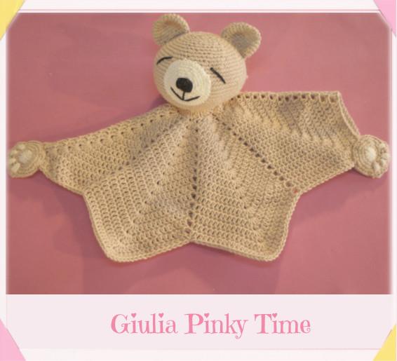 Free pattern to crochet teddy bear comforter