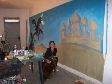 Making of Aladin con Fionetta