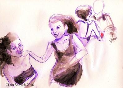 Le ballerine ridono