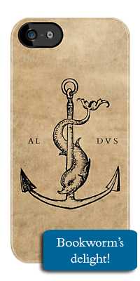 aldus manutius iphone cover