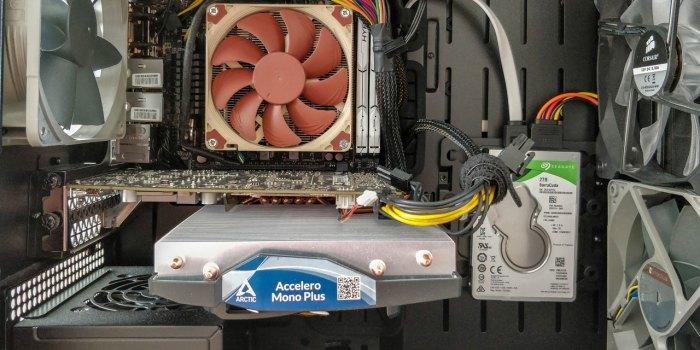 Arctic Accelero Mono PLUS + Zotac GTX 1060 Mini 3GB = Silence!