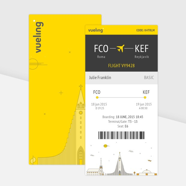 daily ui boarding pass