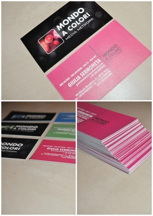 Business Card Mondo a Colori