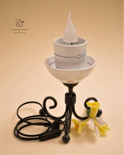 Small Flower Glass Lamp, kleine Blumenglaslampe