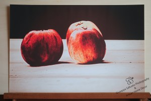Apples on the table -Natural Light