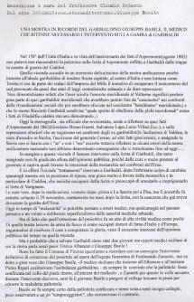 Recensione del prof. Claudio Paterna