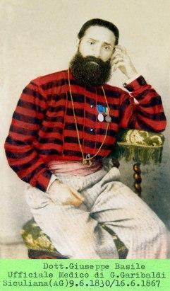 Il dottor Giuseppe Basile, medico di Garibaldi