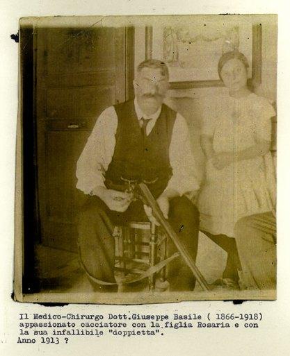 Fotografia della famiglia Basile