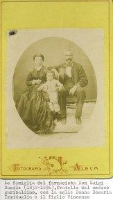 Famiglia del farmacista Luigi Basile