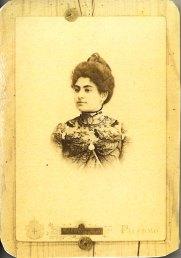 Mariangela Salto Vecchio Verderame moglie del dottor Giuseppe Basile