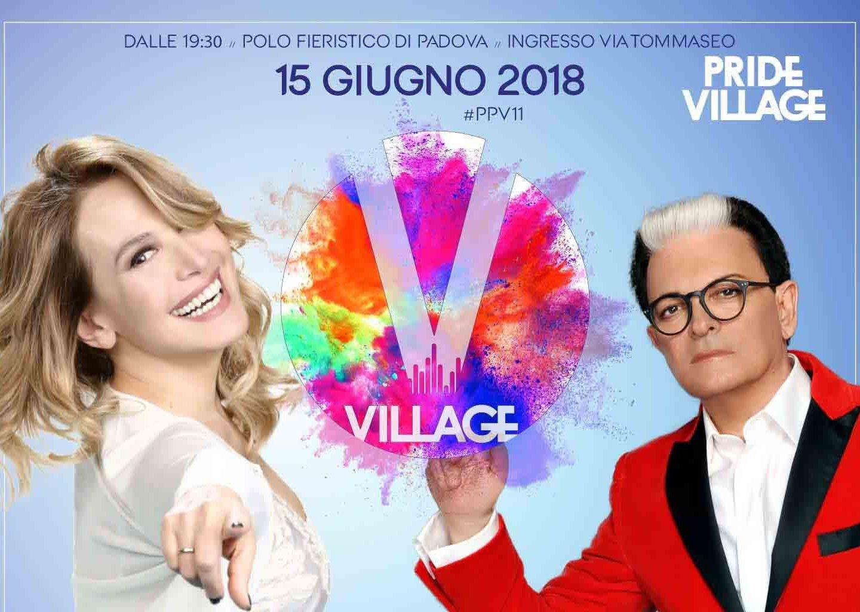 Pride Village: Barbara d'Urso e Cristiano Malgioglio