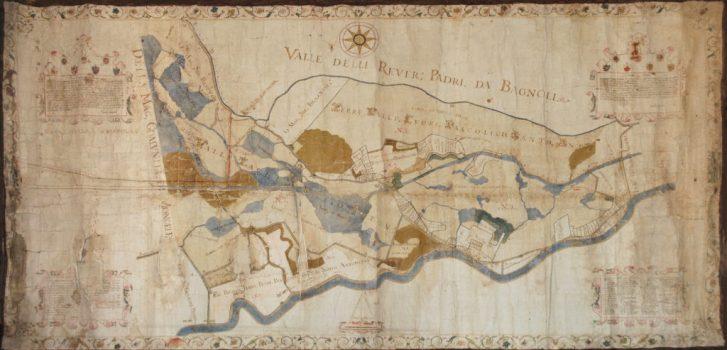 Mappa dei Beni dell'Arca in Anguillara