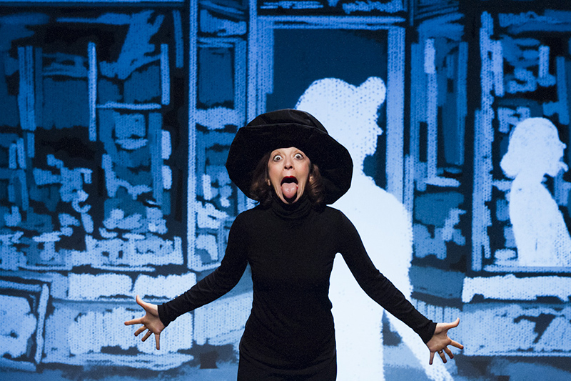 "Marta Bettuolo in ""Peggy Guggenheim"""
