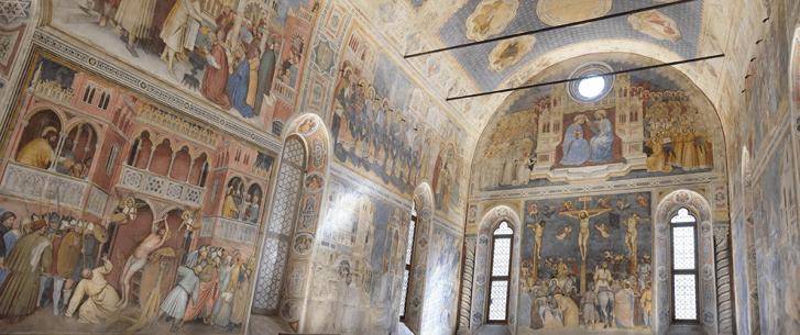 Oratorio di San Giorgio Padova Affreschi Altichiero da Zevio (ph Antonio Bortolami)
