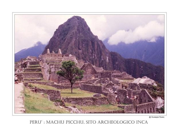 PERU' : MACHU PICCHU