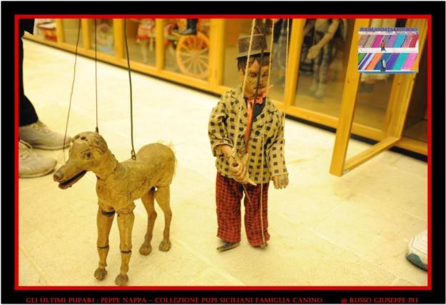 Peppe Nappa collezione Pupi Siciliani famiglia Nino Canino