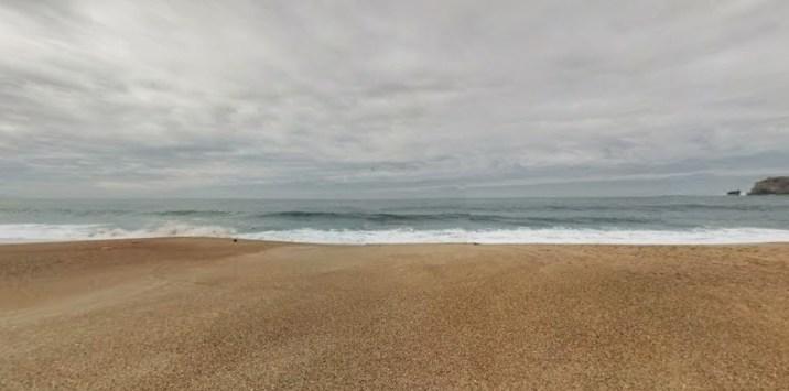 Spiaggia di Nazarè, Portogallo