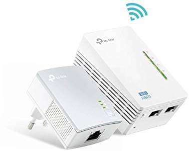 Esempio di Powerline con Access Point Wifi incorporato della TPLink