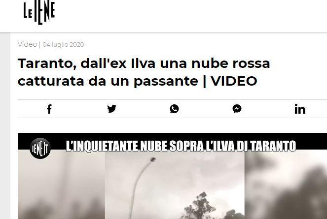 Tempesta di minerale, il video diventa virale: ora l'Italia sa che il problema non è affatto risolto