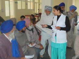 Krankenhausbehandlung für Bedürftige