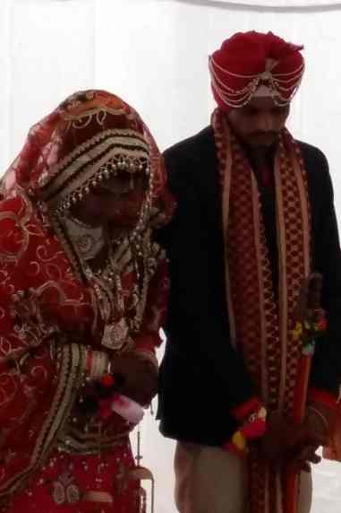 A couple from Ajnala area