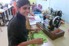 Custom tailoring provides girls an easy income