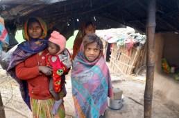 Shamba Devi und ihre Familie