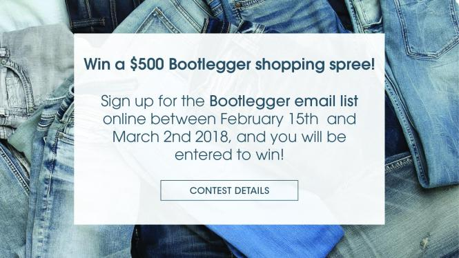 Bootlegger Share Your Fashion Feedback Contest - Enter For Chance To Win