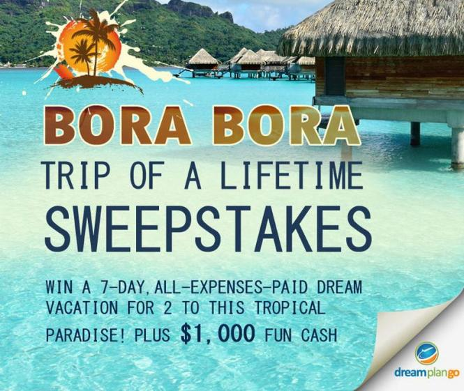 The Bora Bora Mermaid Getaway Sweepstakes