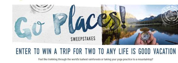 Go Places Sweepstakes