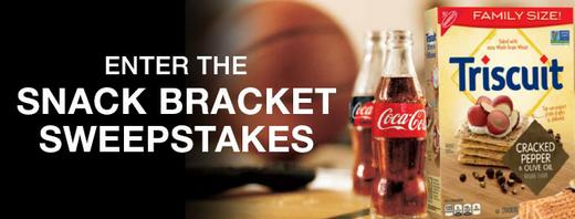 Snack Bracket Sweepstakes