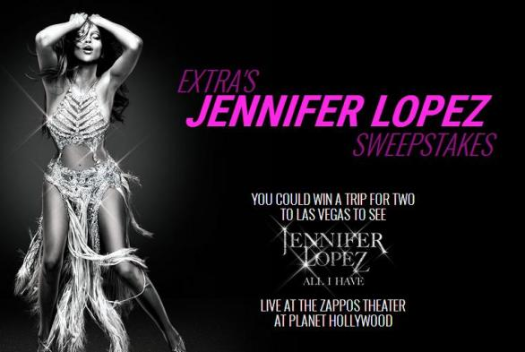 Jennifer Lopez Sweepstakes
