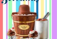 Ice Cream Maker Giveaway