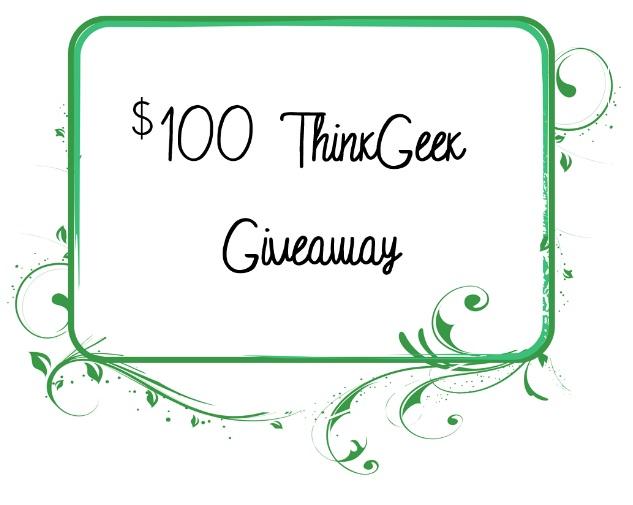 $100+ ThinkGeek Giveaway - Win $100+ prize pack