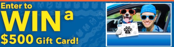 1A Auto Dog Days Of Summer Sweepstakes - Win Gift Card