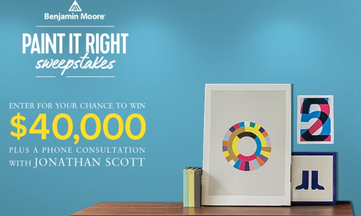 Benjamin Moore HGTV Paint It Right Sweepstakes - Win