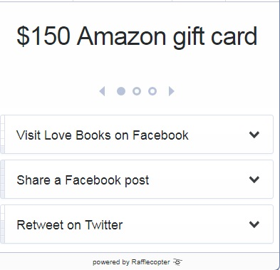 Love Books Amazon Gift Card Giveaway - Win Amazon Gift Card