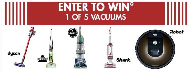 Nebraska Furniture Mart Memorial Day Vacuum Giveaway - Win Vacuum Prizes