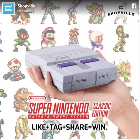 Shopville Canada Snes Classic Mini Console Giveaway - Win A Console