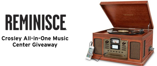 The Music Player Giveaway - Win A Crosley All-In-One Music Center