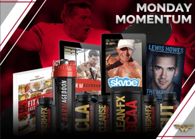 Weatherford Fit Monday Momentum Sweepstakes - Win Fully Loaded iPad And Many More Prizes