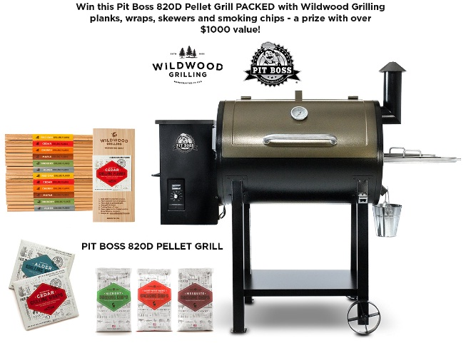 Bbq grill giveaway