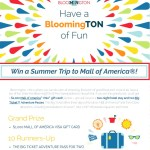 BloomingTON Of Fun Sweepstakes - Win America Visa Gift Card
