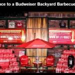 Budweiser Backyard Barbecue Sweepstakes