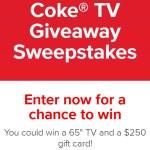Coke TV Giveaway Sweepstakes